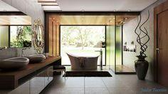 Banheiro casa de campo. #vrayforsketchup #instagram #@juniorferreira.arq #design # construção
