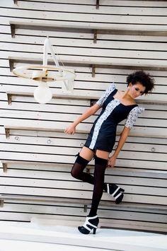 Fashion Designer:Bahar Kanık Photographer:Özgül Özgüle Model:Nihan Asma Hair&Make-Up:Zeynep Karaca