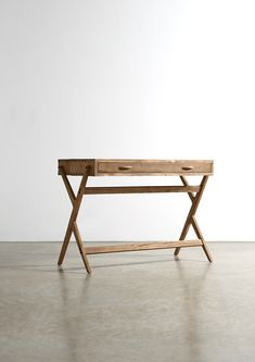 The CONNOR Desk - in Oak and Reclaimed Pine - Swoon Editions - swooneditions.com
