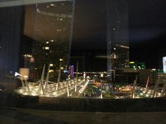 Las Vegas view from Aria