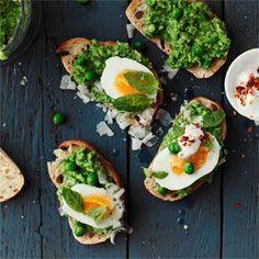 Pesto z zielonego groszku | Kwestia Smaku