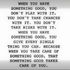 Something good.