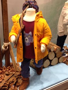 This visual merchandising is perfect for winter. ~ #icityretail