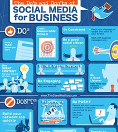 The Do's and Dont's of Social Media for Business - http://wigisocial.com/the-dos-and-donts-of-social-media-for-business/