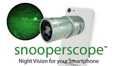 Snooperscope: Night Vision for Your Smartphone iPhone iPad