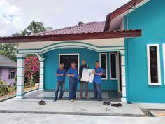 Projek Bina Rumah Felda Air Tawar 1 Kota Tinggi Johor Kota Tinggi, Construction, Outdoor Decor, Building