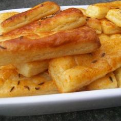 chute a vône mojej kuchyne. Ciabatta, Onion Rings, Crackers, Macaroni And Cheese, French Toast, Appetizers, Cooking, Breakfast, Ethnic Recipes