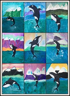 MaryMaking: Orcas of Alaska