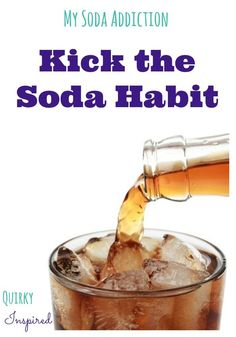 Want to stop drinking soda? Then get healthy living tips to stop your soda habit! Live a healthy lifestyle but keep your tastebuds happy too! Stop Drinking Soda, Quit Drinking, Get Healthy, Healthy Snacks, Healthy Habits, Healthy Drinks, Soda Addiction, Quitting Alcohol, Healthy Alternatives