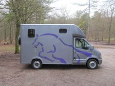 This 2002 #Vauxhall Movano #horsebox carries up to two horses | For #sale on #HorseDeals