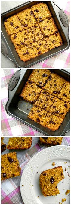 These FLOURLESS Chocolate Chunk Pumpkin Banana Bars are #HEALTHY #VEGAN #GLUTENFREE & full of wholesome & tasty ingredients. They make the perfect snack! - (use coconut sugar)