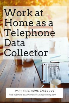 If you're looking for a work at home job, you might check out being a Telephone Data Collector. It's part-time home-based work. Get details at MoneyMakingMommy.com.