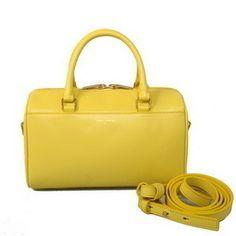 Wholesale Réplique Yves Saint Laurent Classic Mini Duffle Bag Jaune -  €242.45   réplique sac 98623d1b0e3