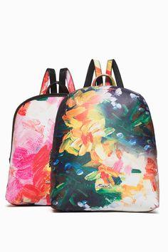 e91b467d7be Desigual barevný oboustranný batoh Rep Bosco Madeira