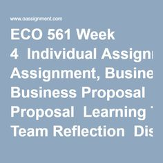 Learning team weekly reflection essay