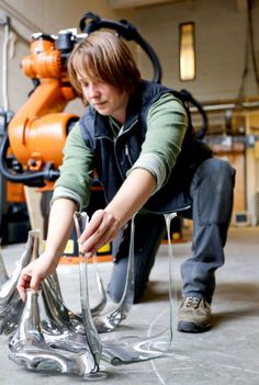 Take a look in the making of Catie Newell's glass art. See more on Crafted in Carhartt.