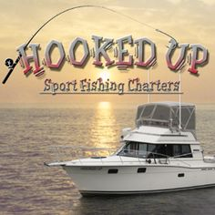 Hooked Up Sport Fishing Charters Sport Fishing, Ice Fishing, Saltwater Fishing, Fishing Boats, Fishing Charters, Fishing Guide, Water Sports, Sweet, Candy