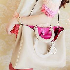 POLIS Women's Cream Korean New Model Casual Fashion Crossbody Shoulder Bags – GBP £ 10.56