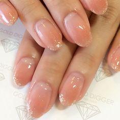 56 intricate short acrylic nails design to express yourself 27 Colorful Nail Designs, Acrylic Nail Designs, Acrylic Nails, Nude Nails, Nail Manicure, My Nails, Bridal Nails, Wedding Nails, Jelly Nails