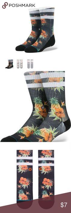 Stance Pineapple socks Stance men's pineapple socks Stance Underwear & Socks Athletic Socks