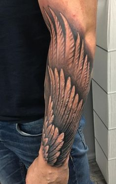 bea890cd7 8 Best forearm wing tattoo images in 2018 | Awesome tattoos, Tattoo ...