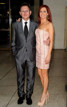 Awesome couple! Michael Emerson from Lost and Carrie Preston from True Blood