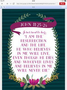 John 11, 25-26