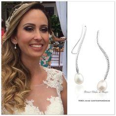 #NoivasVIKX #Jewellry #vikx #Joias #Noivas #Casamento #Earring #Pearls #Diamond #Gold
