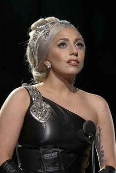 "Lady Gaga received the Trevor Hero Award in 2011 at Trevor Live LA. ""I hope to as much as I can scream from the rooftops that there is an organization like this that is always available for young people to call, to know that there will always be someone there to listen, to know that they matter."" - Lady Gaga"