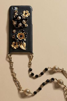 Dolce & Gabbana iphone case with a matching chain strap