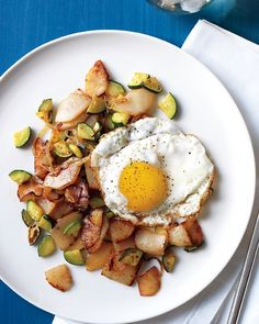 Potato and Zucchini Hash