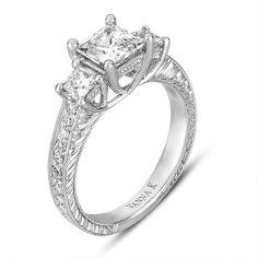 Princess Cut Engagement Rings Settings 42