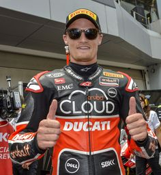 Chaz Davies and Davide Giugliano to stay with Ducati Superbike Team in 2016 - http://superbike-news.co.uk/wordpress/Motorcycle-News/chaz-davies-and-davide-giugliano-to-stay-with-ducati-superbike-team-in-2016/
