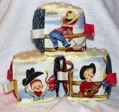 Gift for Baby:  Cowboy Baby Blocks... KS.