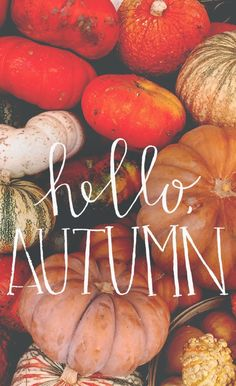 Hello, Autumn! Free download!