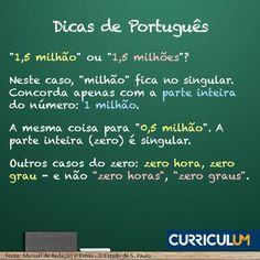 Acerte no português em seu currículo! Faça uma Análise ou Revisão de Currículo.