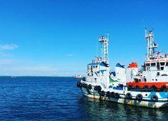 Onduty  #marines #vessels #tanjungbatu #poeb #petrosea #oilandgasindustry #france #sea #offshorelife #totalEP #instapic #instafamous #instawork #instamood #instasea #instamarine by new_jatshu