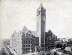Court House and City Hall, Minneapolis Minnesota, 1900's