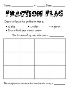 Fraction Flag