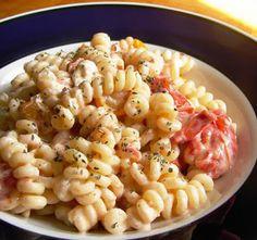 Nummy Kitchen: Roasted Tomato and Goat Cheese Pasta