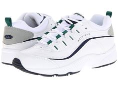 796ed2788dd7 Easy Spirit Romy Women s Walking Shoes White Multi Leather