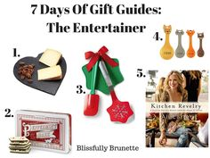 http://blissfullybrunette.com/?p=5323 #7DaysOfGiftGuides   Gifts for the entertaining couple.