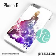 Cinderella In Colourful Art Phone case for iPhone 6 and other iPhone devices