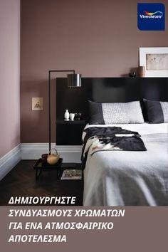 Βρείτε τα χρώματα που θα δημιουργήσουν το πιο ατμοσφαιρικό υπνοδωμάτιο από την Vivechrom! Αποχρώσεις: 12YR 45/079 30YR 29/118 #bedroom #bedroominspo #interiorinspo Bedroom, Furniture, Home Decor, Decoration Home, Room Decor, Bedrooms, Home Furnishings, Home Interior Design, Dorm Room