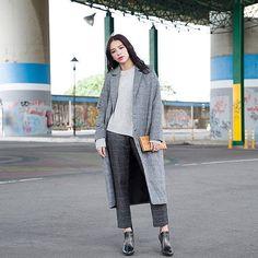 """""""Groutfits"""" - Inspirationen für Outfits aus grauer Kleidung"""