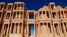 Kreuz des Südens: Sabrata ist neben Leptis Magna die bedeutendste Ausgrabungsstätte Libyens. Bereits die Phönizier nutzten den natürlichen Hafen an einer der Handelsrouten durch die Sahara
