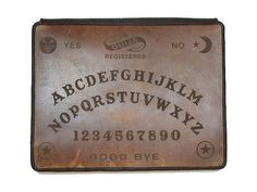 Ouija Leather iPad case from joevleather
