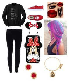 """""""Untitled #412"""" by oliviamarvel on Polyvore featuring Vans, Forever 21 and Alex and Ani"""