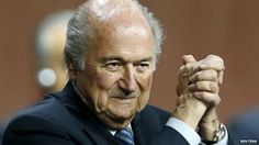 Welcome to NewsDirect411: FIFA Scandal: Sepp Blatter Given Ovation By Staff....