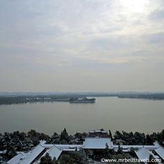 Views of Kunming Lake at the Summer Palace Beijing